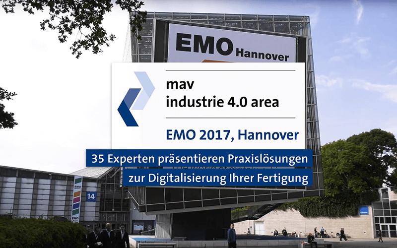 IndustryArena auf der EMO Hannover 2017